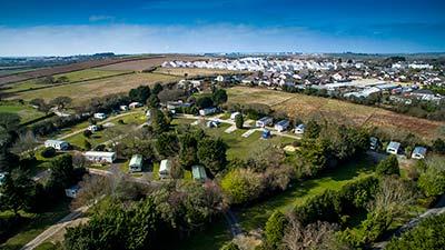 Trethiggey Holiday Park Camping Touring Newquay Cornwall